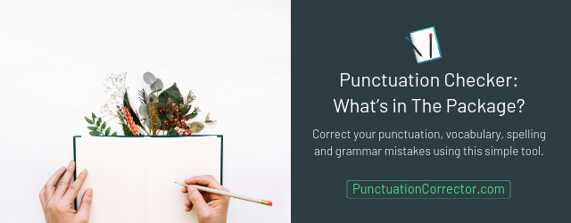 correct grammar and punctuation checker website