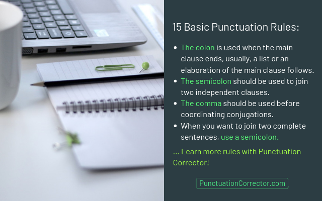 grammar and punctuation fixer online